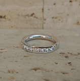 Diamanten trouwring Juwelier Vanhoutteghem