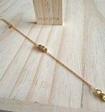 Armbanden goud verguld Juwelier Vanhoutteghem