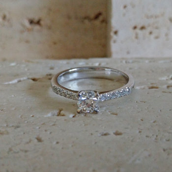 Ring Goud Roca Atelier A6849- Maat 54