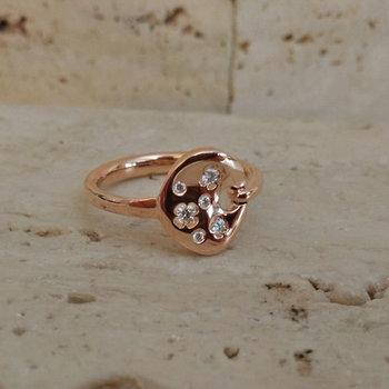 Ring Goud Roca Atelier A6937B - Maat 54
