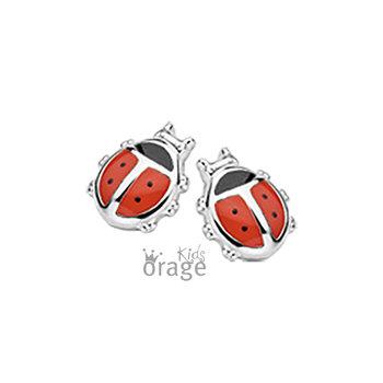 Oorringen Orage Kids K1937 lieveheersbeestje