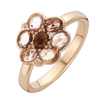 Ring Roos 18kt rood goud 18kt/br./sf. 105RPSR18