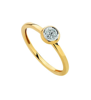 ring Naiomy gold G2A01/z