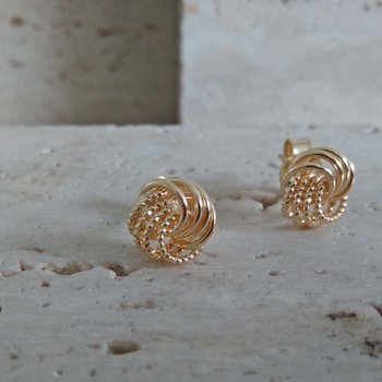 Gouden Oorbellen 6046