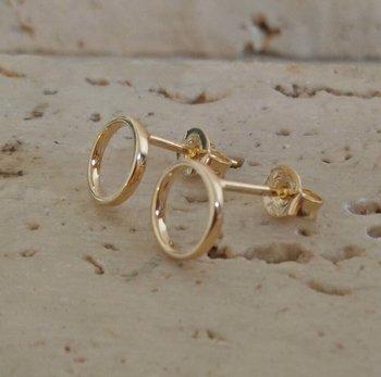 Gouden Oorbellen Cirkel 60740