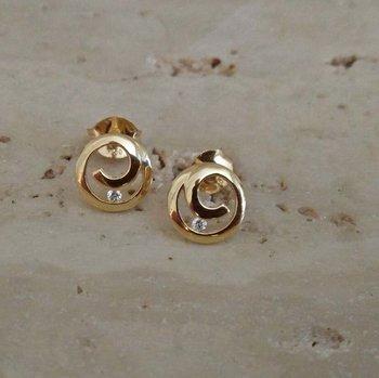 Gouden Oorbellen 61023