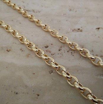 Ketting geel goud 61428