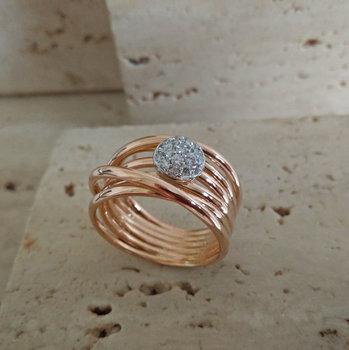 Ring Goud Roca Atelier A5909 - Maat 56