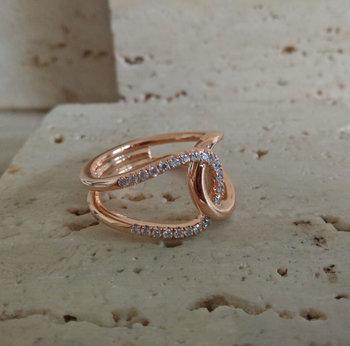 Ring Goud Roca Atelier A6407 - Maat 56