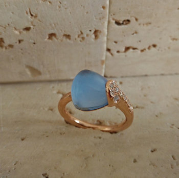 Ring Goud Roca Atelier A6829J - Maat 54