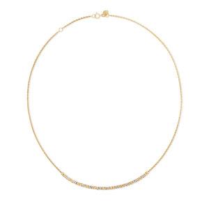 gouden halsketting 18 kraat swing jewels