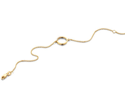 gouden armbanden diamantjes